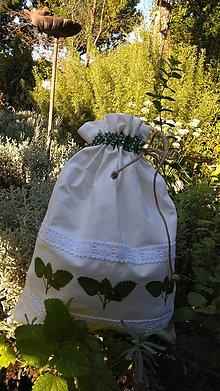 Úžitkový textil - Vrecko na bylinky - 11088598_
