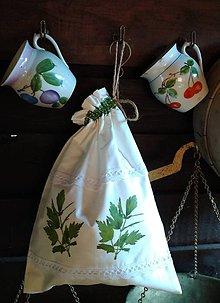 Úžitkový textil - Vrecko na bylinky - 11088628_
