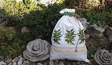 Úžitkový textil - Vrecko na bylinky - 11088675_