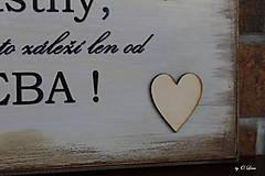 Tabuľky - Ak chceš byť šťastný ... maxi tabuľka - 11087214_