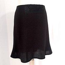 Sukne - Tulipánová sukňa s krajkou - 11088032_
