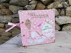 Papiernictvo - Mini fotoalbum pre bábätko, dievčatko - 11087957_