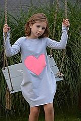 Teplákové balónové šaty/tunika