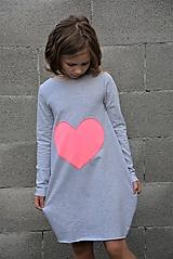 """Detské oblečenie - Teplákové balónové šaty/tunika """"mama a dcéra"""" Matylda - 11086808_"""