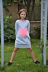 """Detské oblečenie - Teplákové balónové šaty/tunika """"mama a dcéra"""" Matylda - 11086814_"""