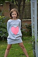 """Detské oblečenie - Teplákové balónové šaty/tunika """"mama a dcéra"""" Matylda - 11086817_"""