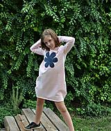 Detské oblečenie - Teplákové balónové šaty/tunika Sandra - 11088336_