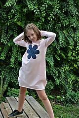 Detské oblečenie - Teplákové balónové šaty/tunika Sandra - 11088342_