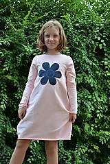 Detské oblečenie - Teplákové balónové šaty/tunika Sandra - 11088343_