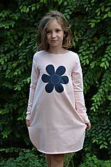 Detské oblečenie - Teplákové balónové šaty/tunika Sandra - 11088346_
