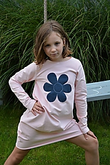 Detské oblečenie - Teplákové balónové šaty/tunika Sandra - 11088348_