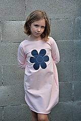 Detské oblečenie - Teplákové balónové šaty/tunika Sandra - 11088353_
