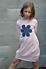 Detské oblečenie - Teplákové balónové šaty/tunika Sandra - 11088356_