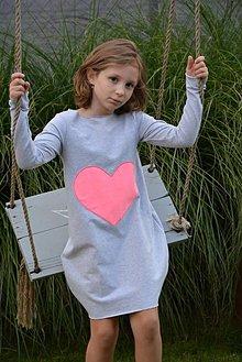 Detské oblečenie - Teplákové balónové šaty/tunika Matylda - 11086802_
