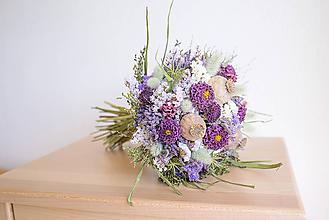 Dekorácie - Romantická prírodná kytica - 11089151_