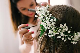 """Ozdoby do vlasov - Svadobný venček """"...pre vílu..."""" - 11089243_"""