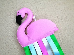 Detské doplnky - Sponkovník (Flamingo) - 11087034_