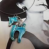 Náhrdelníky - Náhrdelník,  Keramika Koník - 11087147_