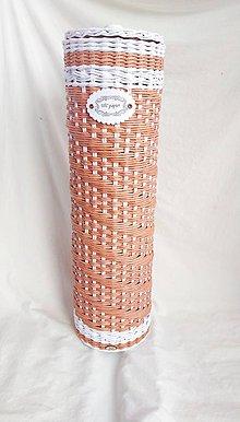 Košíky - Zásobník na toaletný papier - 11087023_