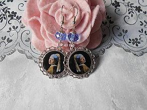 Náušnice - Príbeh perlovej náušnice II. - 11088312_