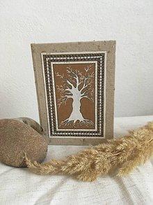 Papiernictvo - Silný ako strom - zápisník - 11088647_