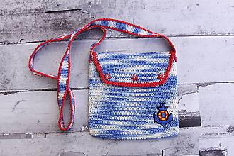 Detské tašky - Detská námornícka kabelka - 11088363_