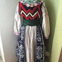 Iné oblečenie - zástera ľudová ku kroju - 11087740_