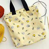 Iné tašky - Taška usilovné včielky ~ tvoritaška + nákupná - 11088375_
