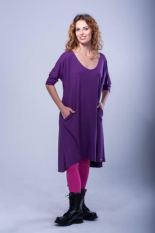 Šaty - Tričko šaty - 11088157_