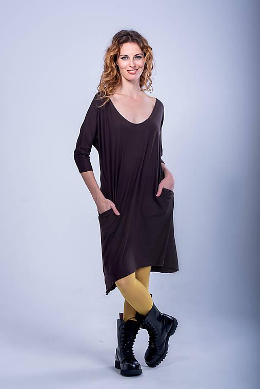Šaty - Tričko šaty - 11088166_