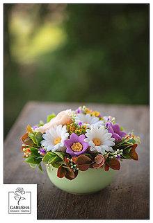 Dekorácie - Voňavá,dekoračná  kytica - 11089071_