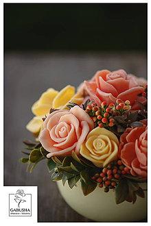 Dekorácie - Voňavá,dekoračná  kytica - 11089102_