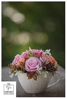 Dekorácie - Voňavá,dekoračná  kytica - 11089124_