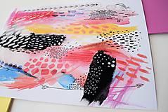Kresby - -Abstrakt/kombinovaná technika- - 11088692_