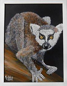 Obrazy - 7. Lemur - 11089285_