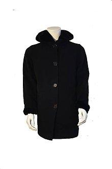 Kabáty - Dámsky vlnený kabát - 11088901_