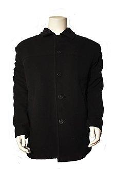 Kabáty - Pánsky vlnený kabát - 11089040_