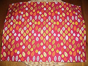 Textil - Obrúsok na desiatu jesenné lístie - 11086668_