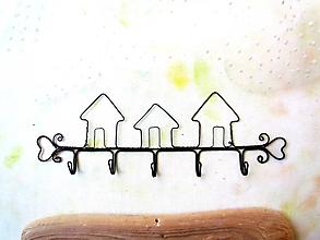 Nábytok - Vešiak 3 domy - 11086710_