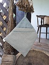 Úžitkový textil - Ľanová kuchynská chňapka LinenMemories - 11089222_