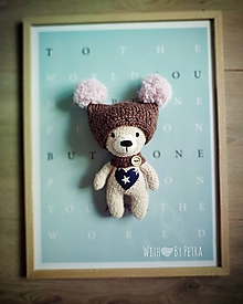 Hračky - Medvedík Softy ♥ - 11090894_
