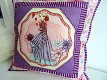 Úžitkový textil - Midnight Garden... vankúš No.1 - 11090505_