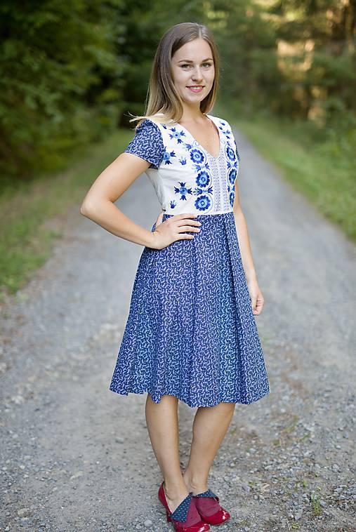 Šaty - Modré - 11091763_