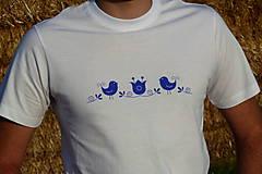 Tričká - Tričko Vtáčik SlovAB - 11091730_