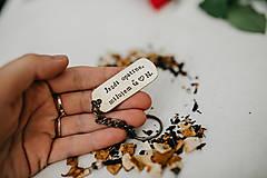 Kľúčenky - Prívesok na kľúče Jazdi opatrne - 11089983_