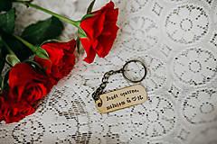 Kľúčenky - Prívesok na kľúče Jazdi opatrne - 11089985_