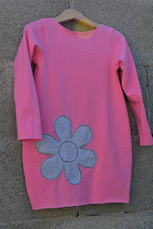 Úpletové balónové šaty/tunika Ell posledný kus!