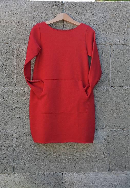 Oversize šaty/tunika Taloux Rouge 116, posledný kus!!!