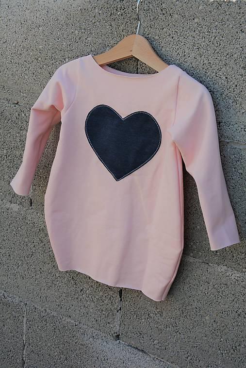"""Teplákové balónové šaty/tunika """"mama a dcéra"""" Caroline"""