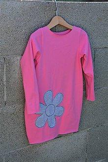 Detské oblečenie - Úpletové balónové šaty/tunika Ell posledný kus! - 11090625_